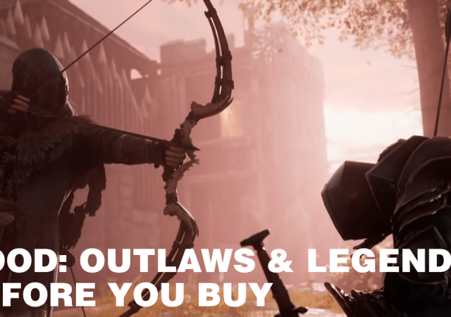 hood outlaws & legends before you buy