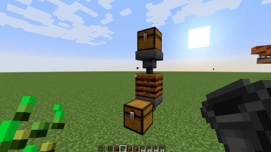 minecraft automated composter